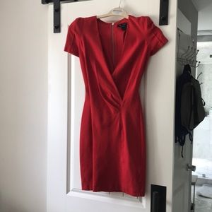 Low cut French connection dress